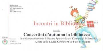 Concerti in Biblioteca