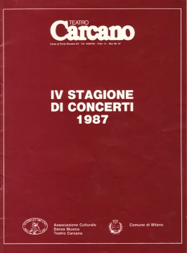 Stagione Carcano 1987
