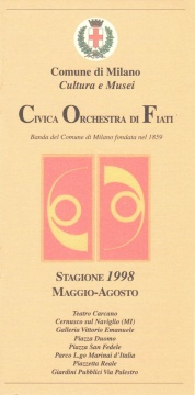Stagione 1998 Estiva