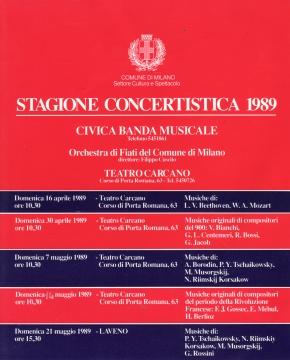Stagione Teatro Carcano